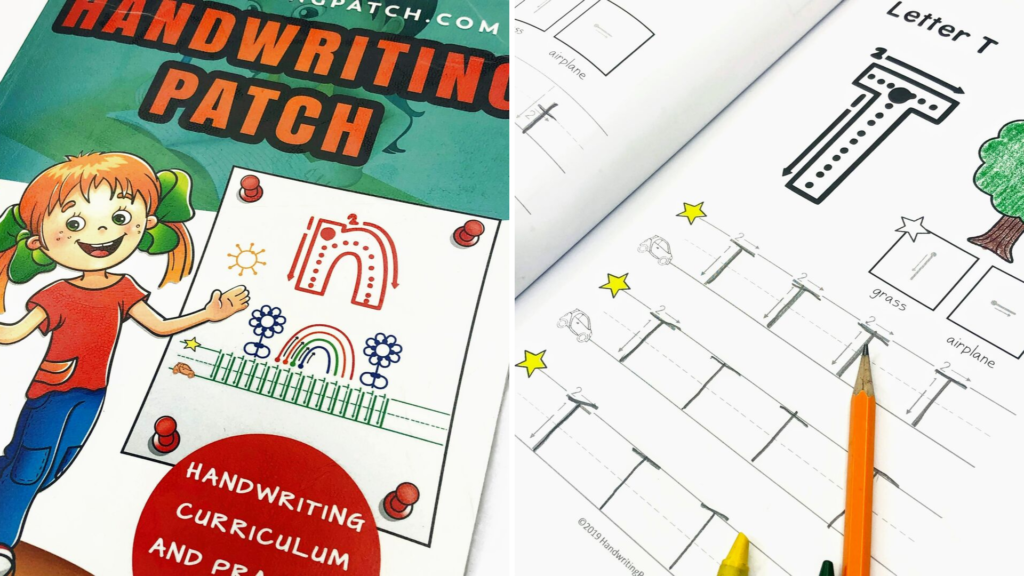 Handwriting Patch Workbook