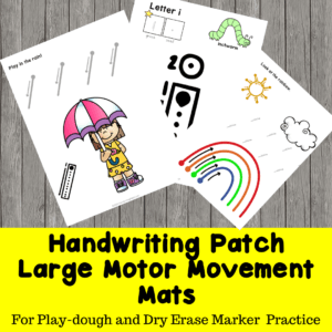 Large Motor Movement Mats
